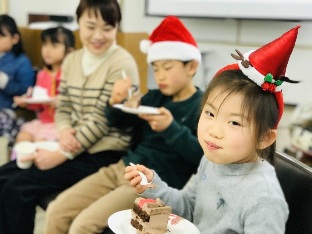 Eating Christmas Cake