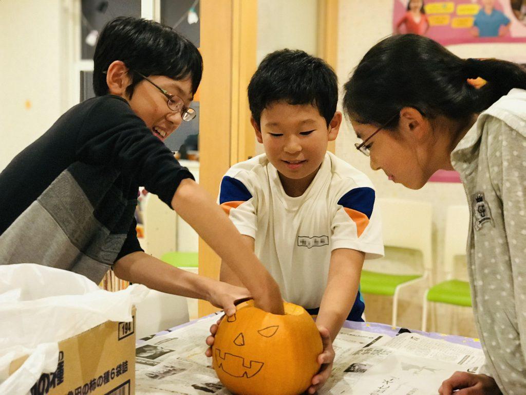 Carving Jack-o-Lanterns