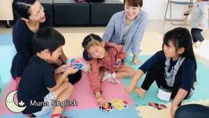 "Elementary Kids Playing ""UNO"""