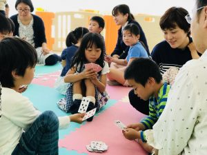 """Elementary Kids Playing """"Old Maid"""""""
