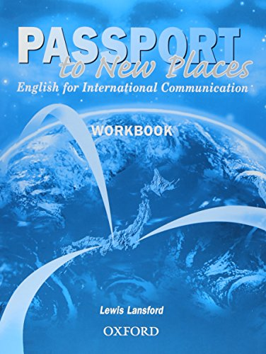 Passport to New Places Workbook