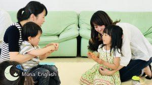 "Kindergarten Kids Playing ""Old Maid"""